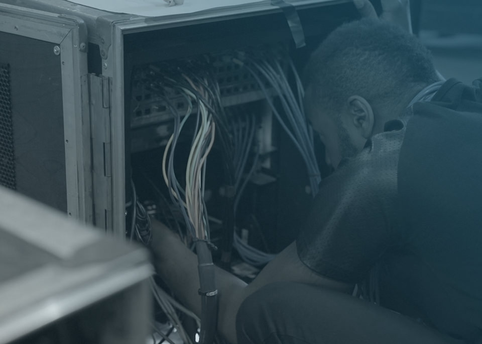 Audio system wiring